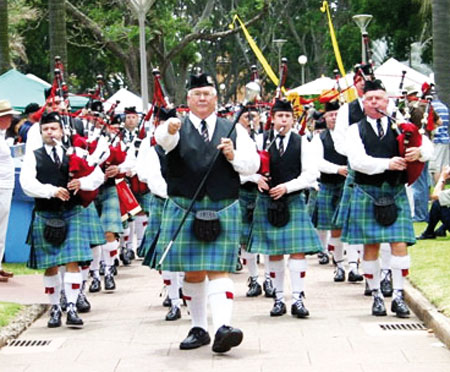 St. Andrew's-day-parade