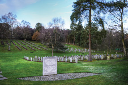 Cannock-Chase-German-war-cemetery  И один в поле воин Cannock Chase German war cemetery