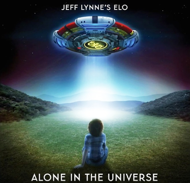 Alone-In-The-Universe  Вселенная  Джеффа Линна Alone In The Universe