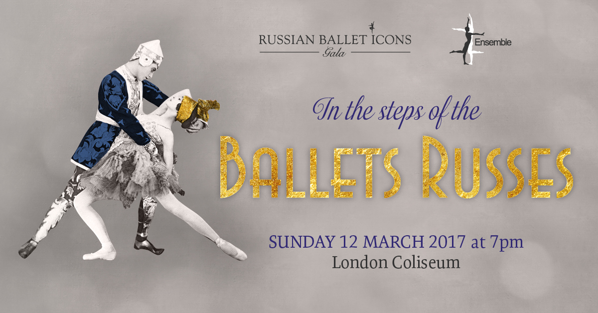 Weekend INFO: 11 и 12марта Ballets Russes facebook image v6