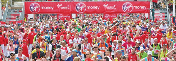 Weekend INFO: 22 и 23 апреля Virgin Money London Marathon 2017