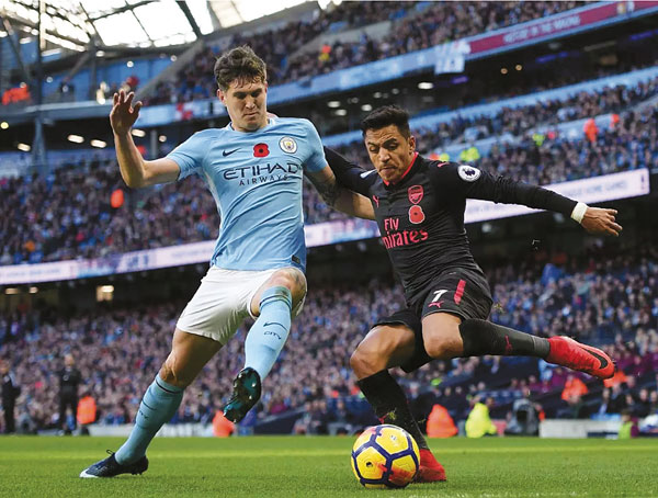 Премьер-лига. Лондон против Манчестера Manchester City vs Arsenal