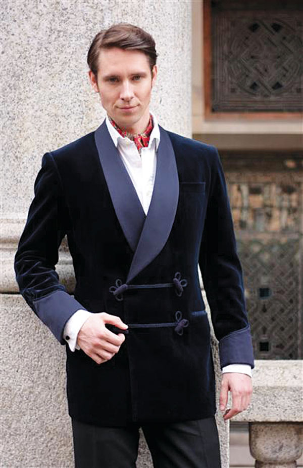 Buckleigh of London: Мы знаем, как одевать smoking jacket 2 big