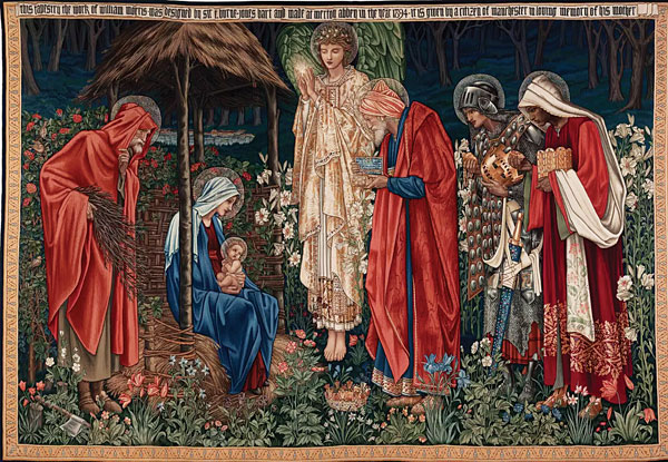 Эдвард Берн-Джонс в Tate Britain Adoration of the Magi 1894