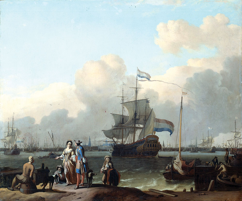 Сыр ели, бренди пили, по-голландски говорили the frigate de ploeg on the ij in amsterdam