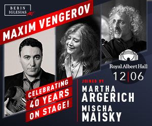 Maxim Vengerov London