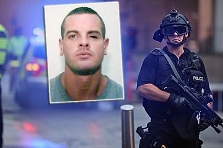 Cregan-Guard Дейл Креган доставлен в суд под многочисленной охраной тяжеловооружённых полицейских