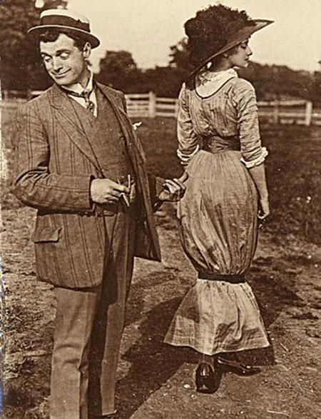 Hobble-skirt «Хромая юбка», или Мaленький секрет элегантной леди