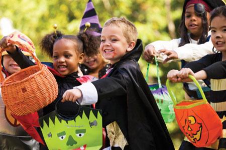 Kids-Halloween-Party- Детская вечеринка в стиле Хэллоуин