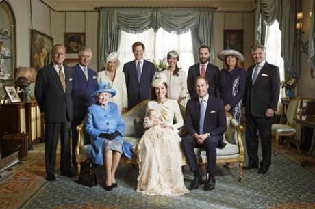 christening Крестины принца Джорджа: опубликованы официальные фотографии