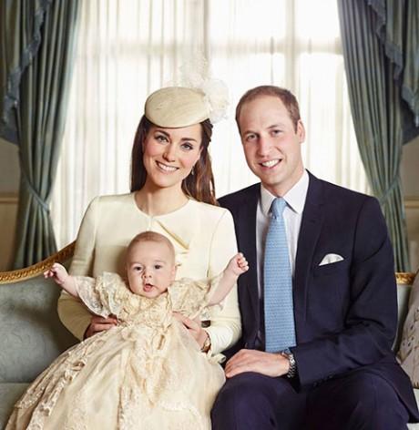 royal-family Крестины принца Джорджа: опубликованы официальные фотографии
