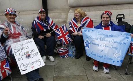 royal-fans Сегодня во дворце Сент-Джеймс пройдут крестины принца Джорджа
