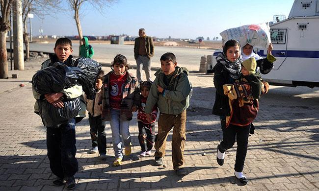 syrian-refugees В Великобританию прибыли первые беженцы из Сирии