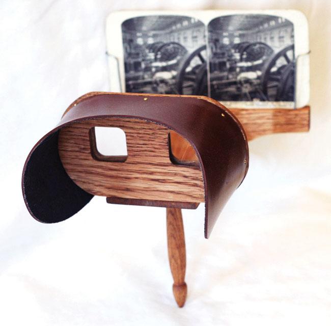 Stereoscope Забытые вещи: стереоскоп