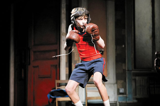 the theme of overcoming an obstacle in order to achieve a dream in the movie billy elliot Read this essay on billy elliot - film review come browse our large digital warehouse of free sample essays get the knowledge you need in order to.