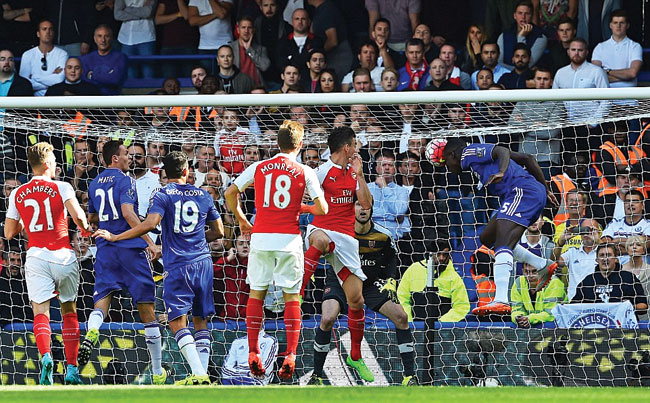Chelsea-2-0-Arsenal-Kurt-Zouma-and-Eden-Hazard-goals Новости спорта: 24 сентября