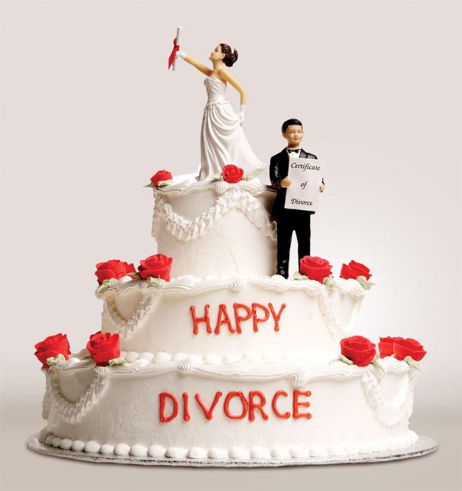 Divorce-cake Развод без развода