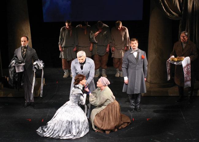 Theatre-of-Lesya-Ukrainka Абсурд русской жизни никуда не исчез