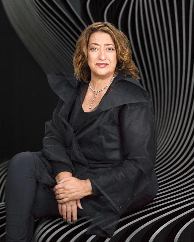 Zaha-Hadid Первая среди женщин