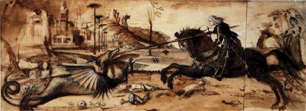 wikimedia-st-_george_and_the_dragon St. George for England! День святого Георгия