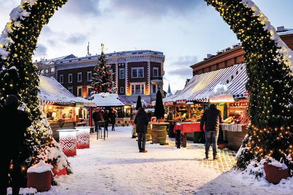 Рига: рождественский рай