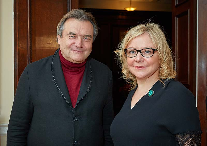 Russian Film Week. Прием в Посольстве РФ