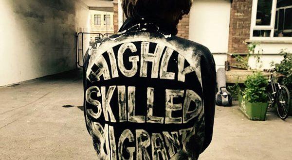 Саша Ильюкевич и его британская группа «The Highly Skilled Migrants»