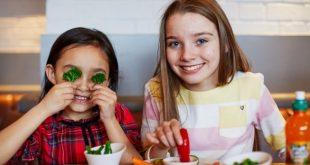 дети едят бесплатно