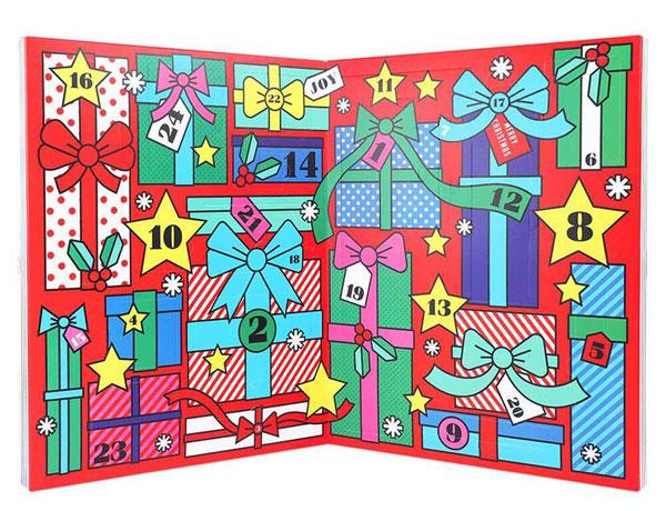 Адвент календарь: волшебный спутник рождества