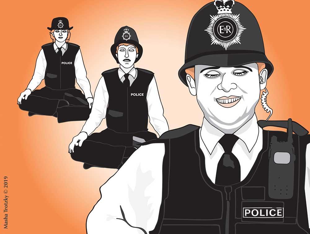 Всем успокоиться! Работает полиция