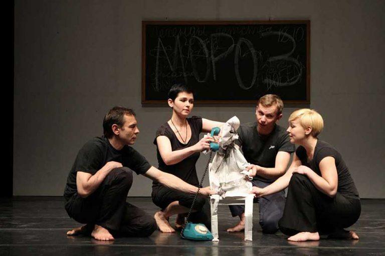 Проект HUNCH Theatre «Легенда о святом пропойце»