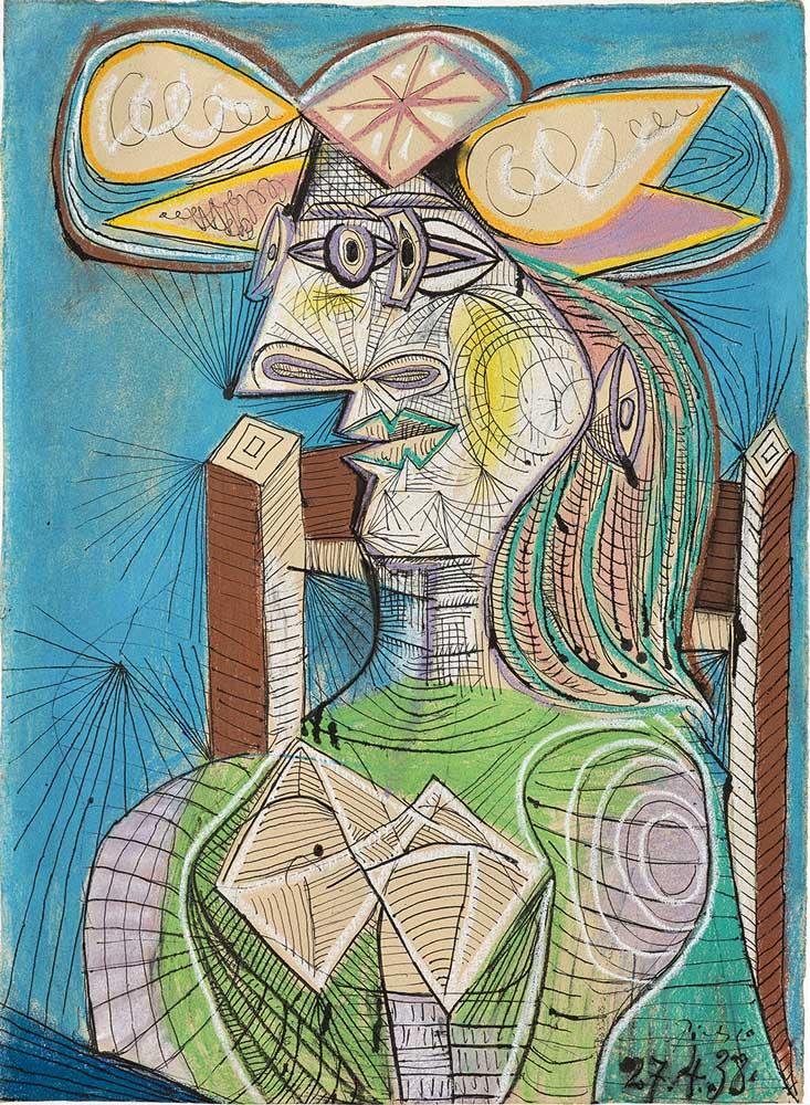 «Пикассо и бумага» Picasso and paper