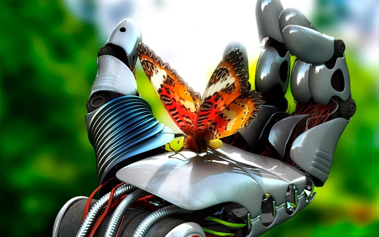 На заре робототехники