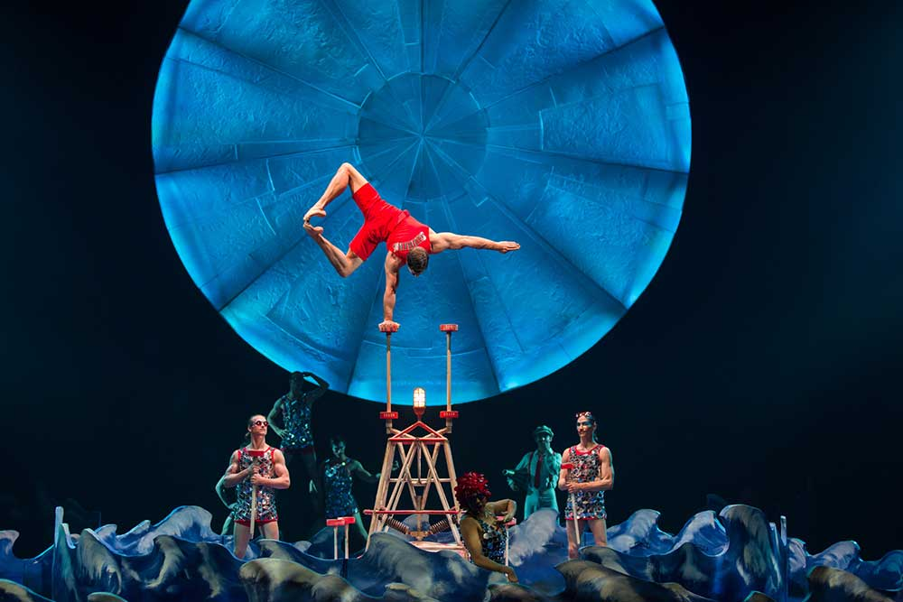 Цирк Дю Солей – «Лусия»