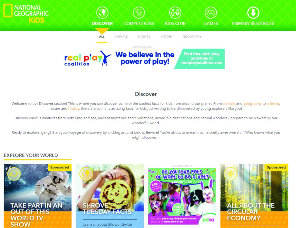 Топ-5 научных мобильных приложений для детей