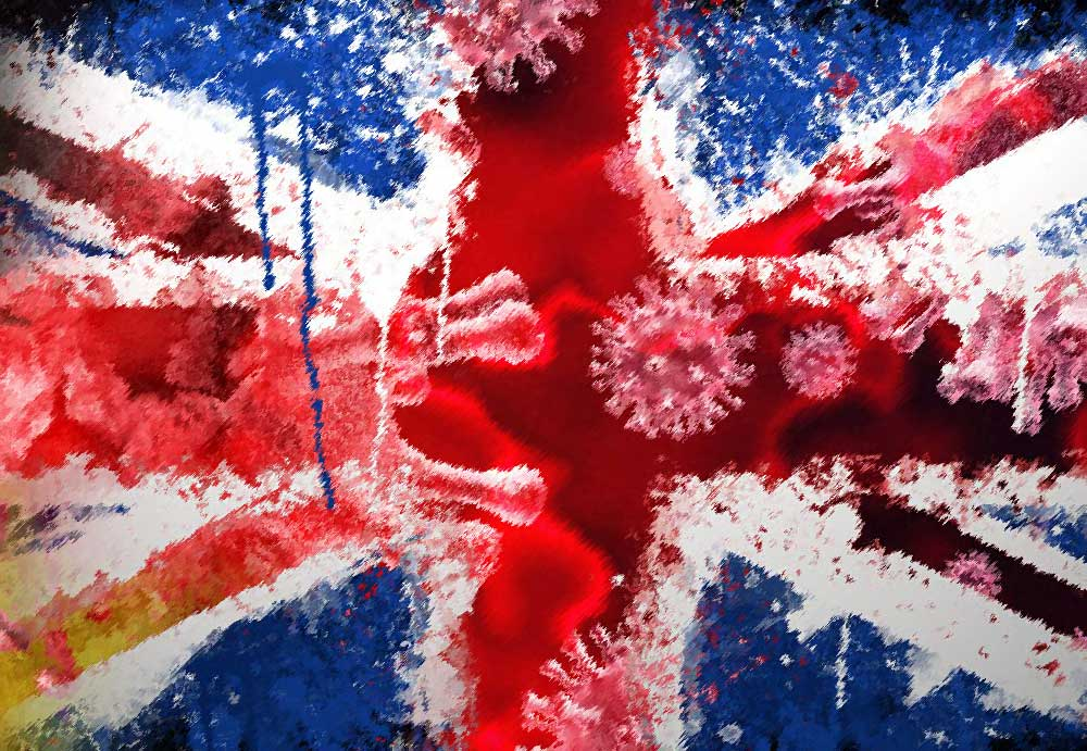 Количество новых случаев Covid-19 в Великобритании превышает 1000 в день. Правительство делало другие прогнозы