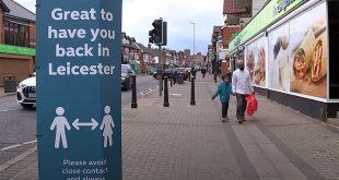 В Лестере вводят строгие ограничения и объявлен локальный локдаун