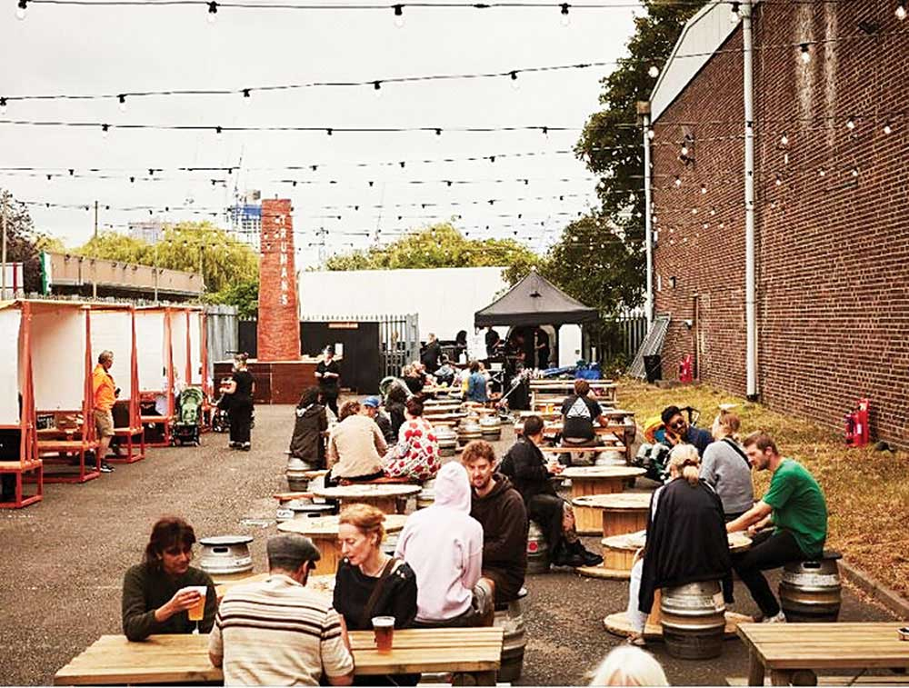 В субботу, в Walthamstow откроется самая большая пивная в Лондоне