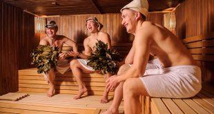 Русская баня в Англии