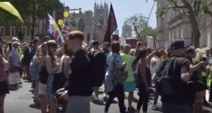 protests-in-london-against-lockdown-extension 14 June 2021